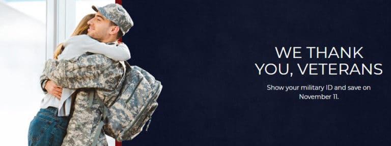2019 Veteran's Day Freebies & Deals - The BIG List