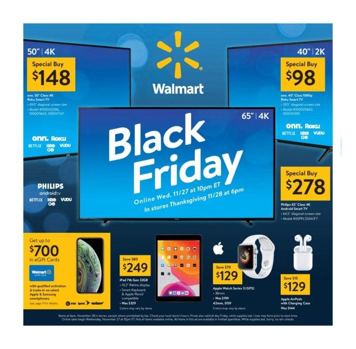 2019 Walmart Black Friday Ad Scan