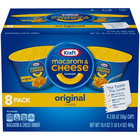 Kraft Easy Mac & Cheese Microwavable Cups 10-Pack Now $5.24