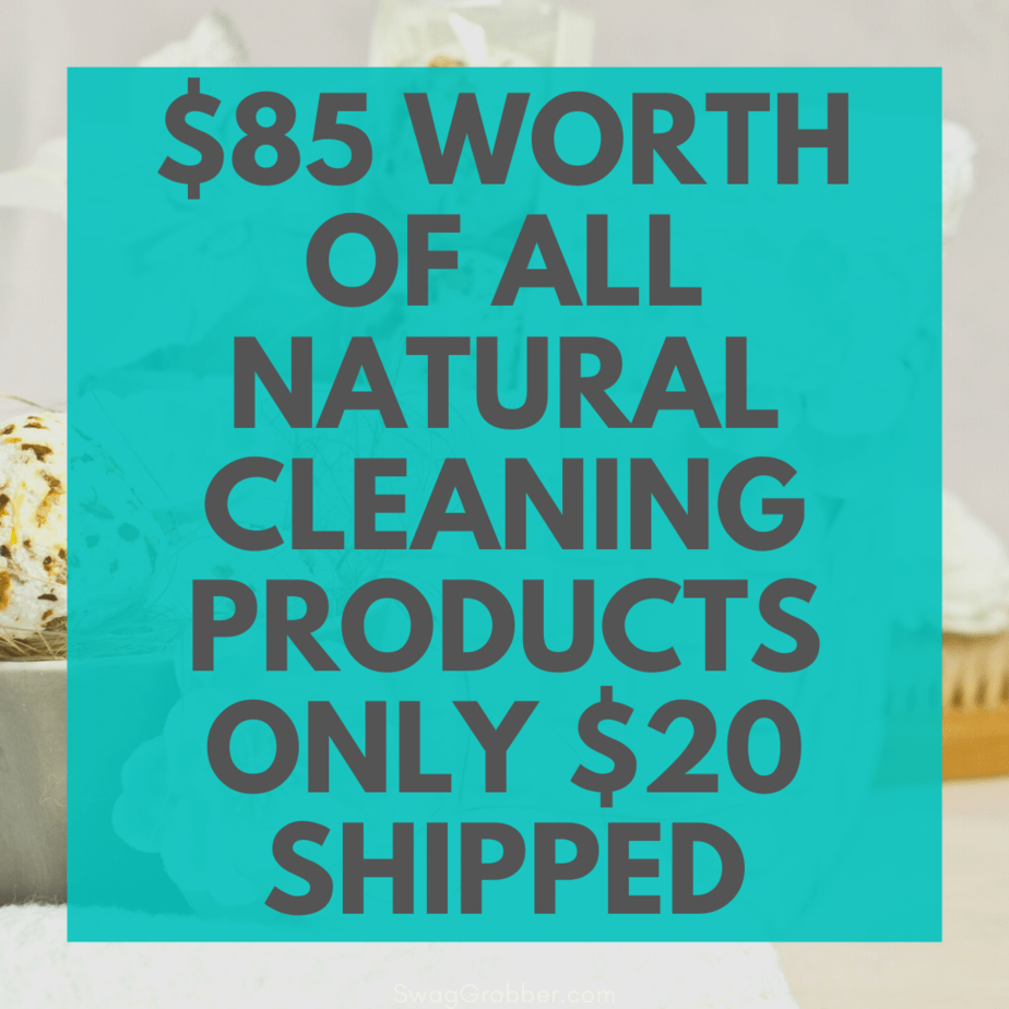 Worth of All Natural Cleaning Products  Shipped