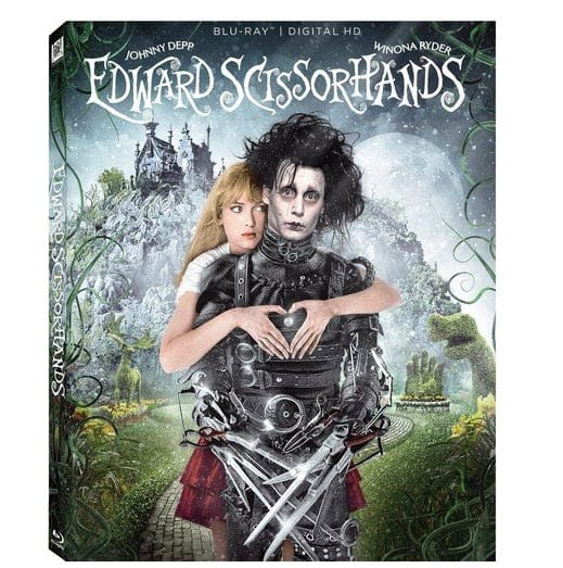 Edward Scissorhands 25th Anniversary Blu-ray Now .99 (Was .99)