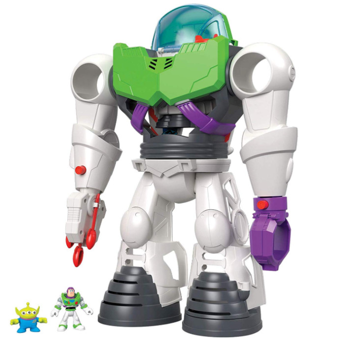 Toy Story Fisher-Price Imaginext 4 Buzz Lightyear Robot Now .99 (Was .99)