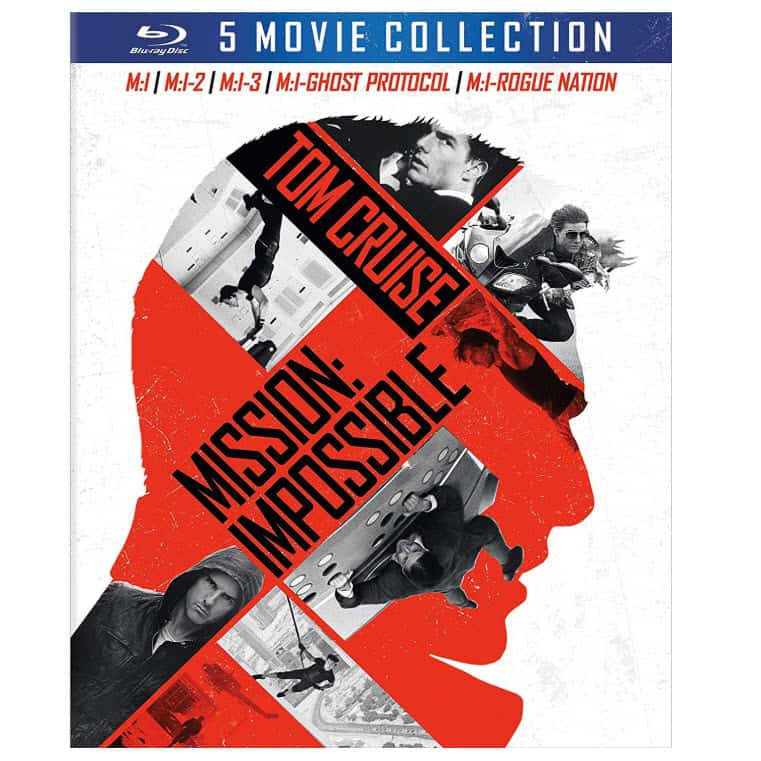 Mission: Impossible 5-Movie Collection [Blu-ray] Now .99 (Was .99)