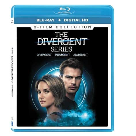 The Divergent Series 3-Film Collection Blu-ray Now .99 (Was .99)