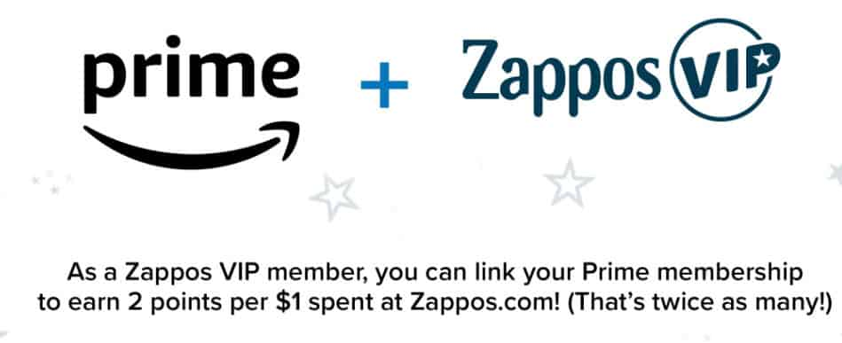 Link Zappos VIP & Prime Members Accounts Get  VIP Rewards for FREE