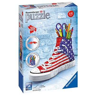 Ravensburger Sneaker American Style 108 Piece 3D Jigsaw Puzzle Now .49 (Was .99)