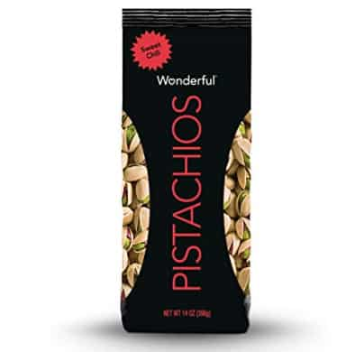 Wonderful Pistachios, Sweet Chili Flavor, 14 Ounce Bag Now .80 (Was .96)