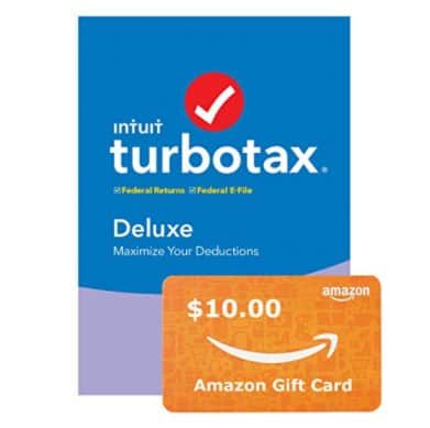Free  Amazon Gift Card When You File w/ TurboTax