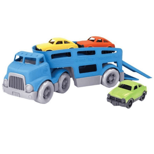 Green Toys Car Carrier Vehicle Set Now .99 (Was .99)
