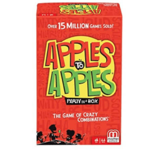 Mattel Games Apples to Apples Party Box Now .44