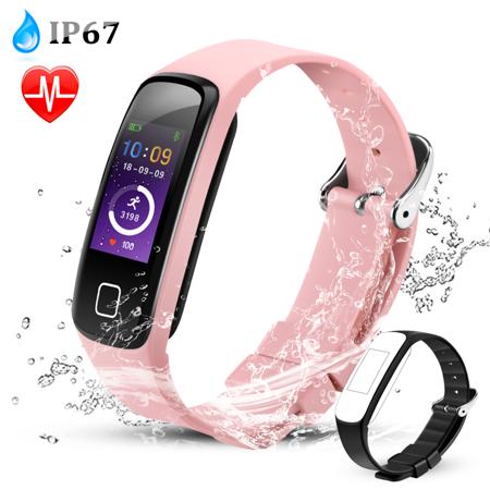 Kikole Smart Wristband with Heart Rate Monitor Now $5.64 (Was $18.79)