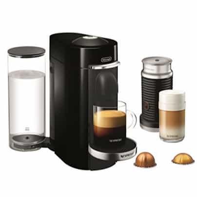 Nespresso by De'Longhi VertuoPlus Deluxe Coffee and Espresso Machine Bundle Now 2.01 (Was 9)