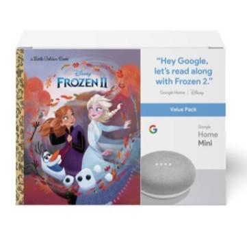 Google Home Mini & Frozen II Book Bundle Now  (Was )