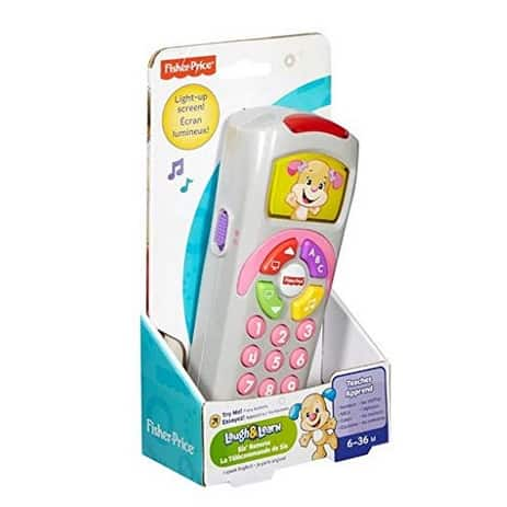 Fisher-Price Laugh & Learn Sis' Remote Now  (Was .99)