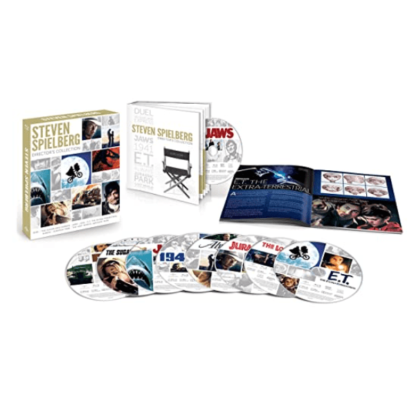 Steven Spielberg Director's Collection on Blu-ray .99 (Was .98)