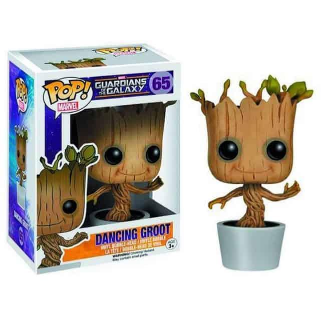 Funko POP! Marvel: Dancing Groot Bobble Action Figure Now .98