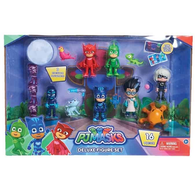 Just Play PJ Masks Deluxe Figure 16 Piece Set Now .98 (Was .99)
