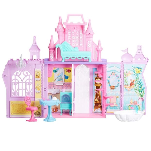 Disney Princess Pop-Up Castle Playset with Handle Now .99 (Was .99)