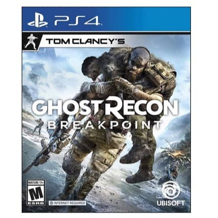 Tom Clancy's Ghost Recon Breakpoint PS4 Now .99 (Was .99)