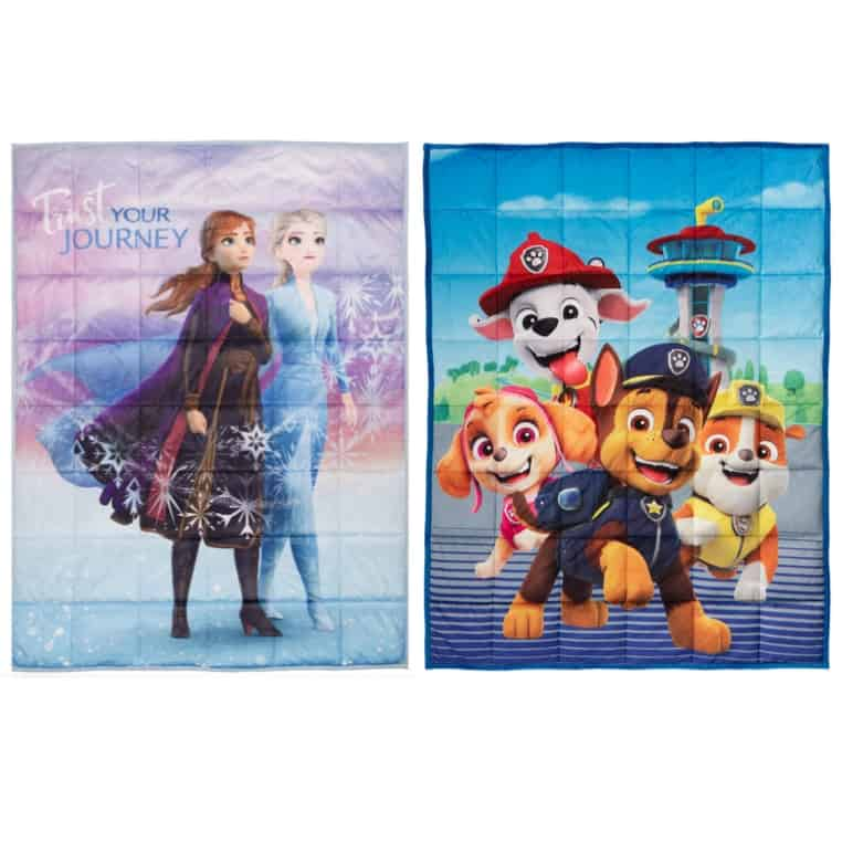 Kids Character Weighted Blankets Now .97 (Was .99)