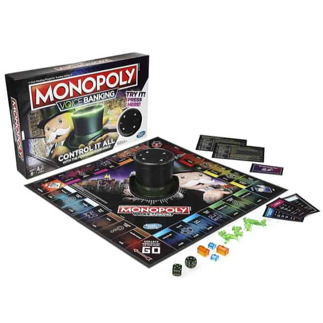 Monopoly Voice Banking Electronic Family Board Game Now .99