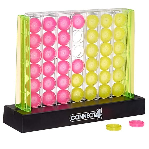 Hasbro Gaming Connect 4 Neon Pop Board Game Now .99 (Was .99)