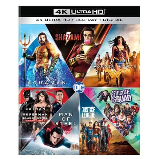 Up to 50% Off Warner Bros. 4K Film Collections