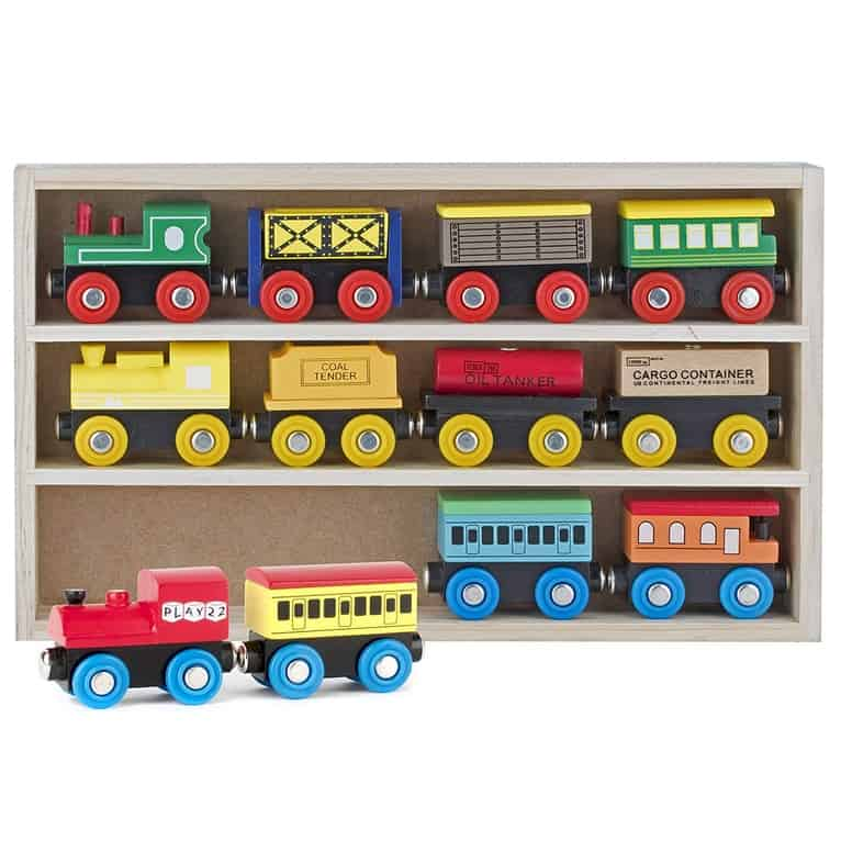 Play22 Wooden Train Set Now .39 (Was .99)