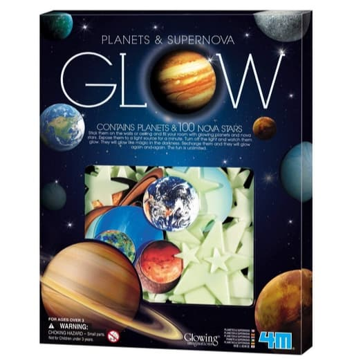 4M Glow In The Dark Planets & Supernova Now .95 (Was .99)