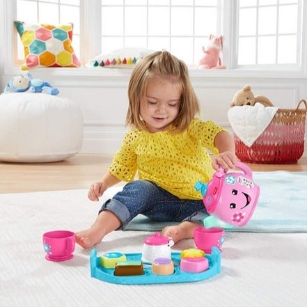 Fisher-Price Laugh & Learn Sweet Manners Tea Set Now .89 (Was .99)
