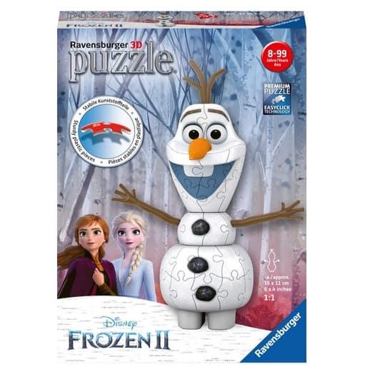 Ravensburger Disney Frozen 2 Olaf 3D Jigsaw Puzzle Now .99