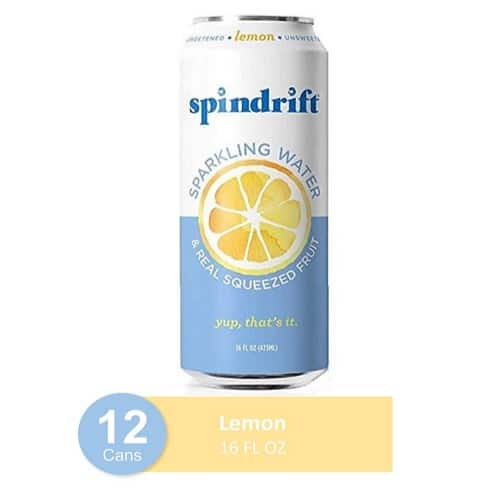 Spindrift Sparkling Water Lemon Flavored 12-Pack Now .46 (Was .99)