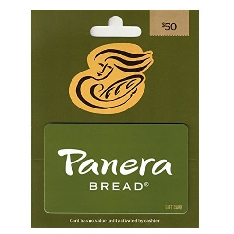 Panera Bread Gift Card Now .50