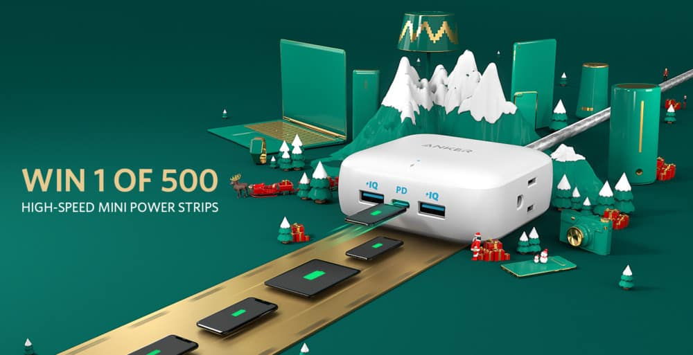 Anker Sweepstakes | Win One of 500 Mini Power Strips