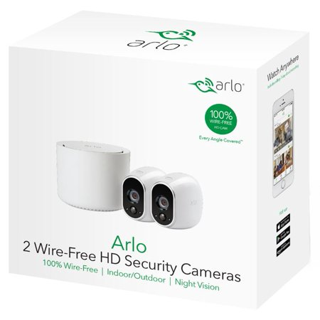 Arlo Smart Home Pro Security System w/ Camera and Doorbell Now $109.99 (Was $174.97)