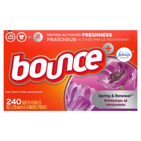 Bounce Fabric Softener Dryer Sheets 240 Count Now $5.09 (Was $12.56)