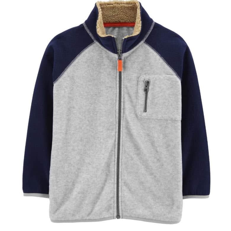 Carter's Kid Zip-Up Fleece Jacket Now .39 Shipped (Was )