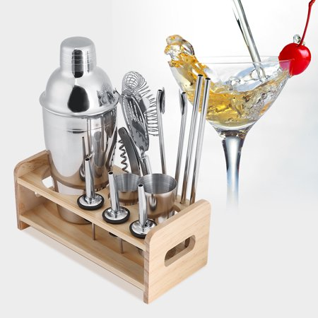 WOHOME Cocktail Shaker Bar Tools Now $26.88 (Was $36.99)