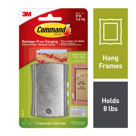 Command Sticky Nail Wire-Backed Hanger