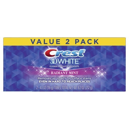 Crest 3D White Toothpaste Radiant Mint 3-Pack Now $8.72