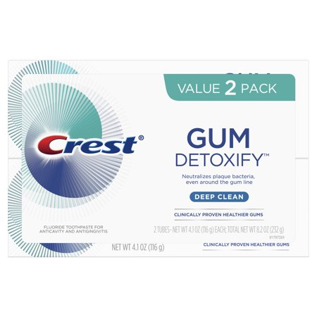 Crest Toothpaste Gum Detoxify Deep Clean 3-Pack Only $8.29