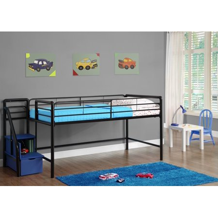 DHP Junior Loft Bed Frame With Ladder Now $84.15 (Was $132)