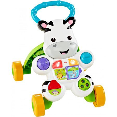 Fisher-Price Learn with Me Zebra Walker Now $12.99 (Was $24.99)
