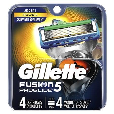 Gillette Fusion5 ProGlide Men's Razor Blades Refills 12-Count Now $26.24