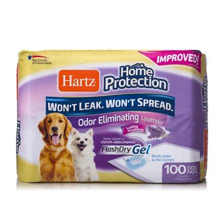 Hartz Protection Lavender Odor Eliminating Gel Dog Pads 140-Count Now $8.95 (Was $29.99)