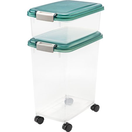 IRIS Premium Airtight Pet Food Storage Container Now $11.34 (Was $19.51)