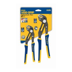 Irwin Tools VISE-GRIP GrooveLock Pliers Set, V-Jaw, 2 Piece, 2078709