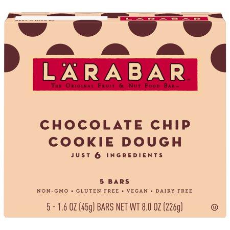 Larabar Gluten Free Choc Chip Cookie Dough Bars, 5CT