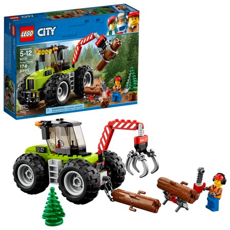 LEGO City Forest Tractor 60181 Building Kit Now $10.99 (Was $19.99)