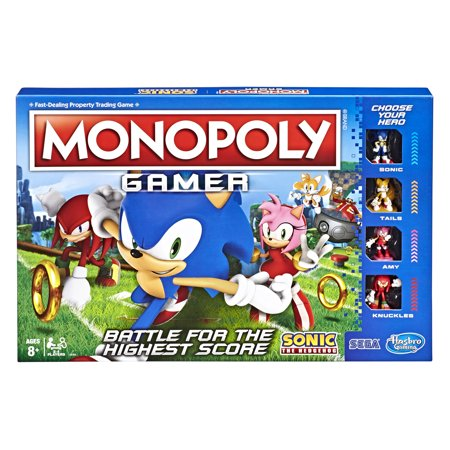 Monopoly Gamer Sonic The Hedgehog Edition Now $9.53 (Was $24.99)